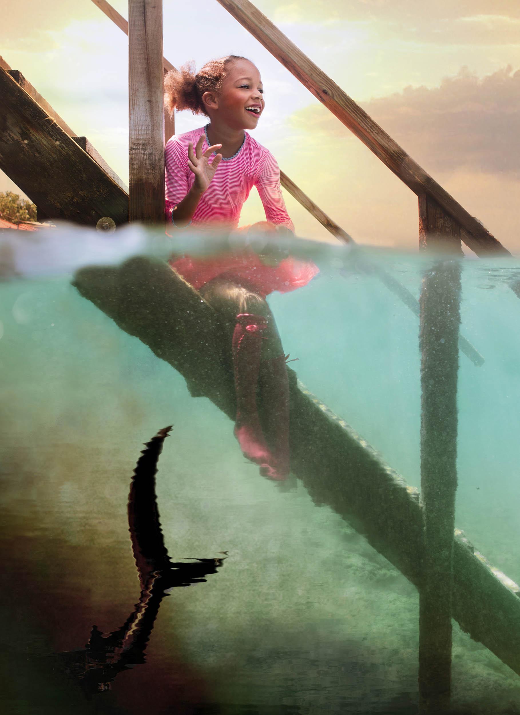 onderwater fotoshoot bonaire