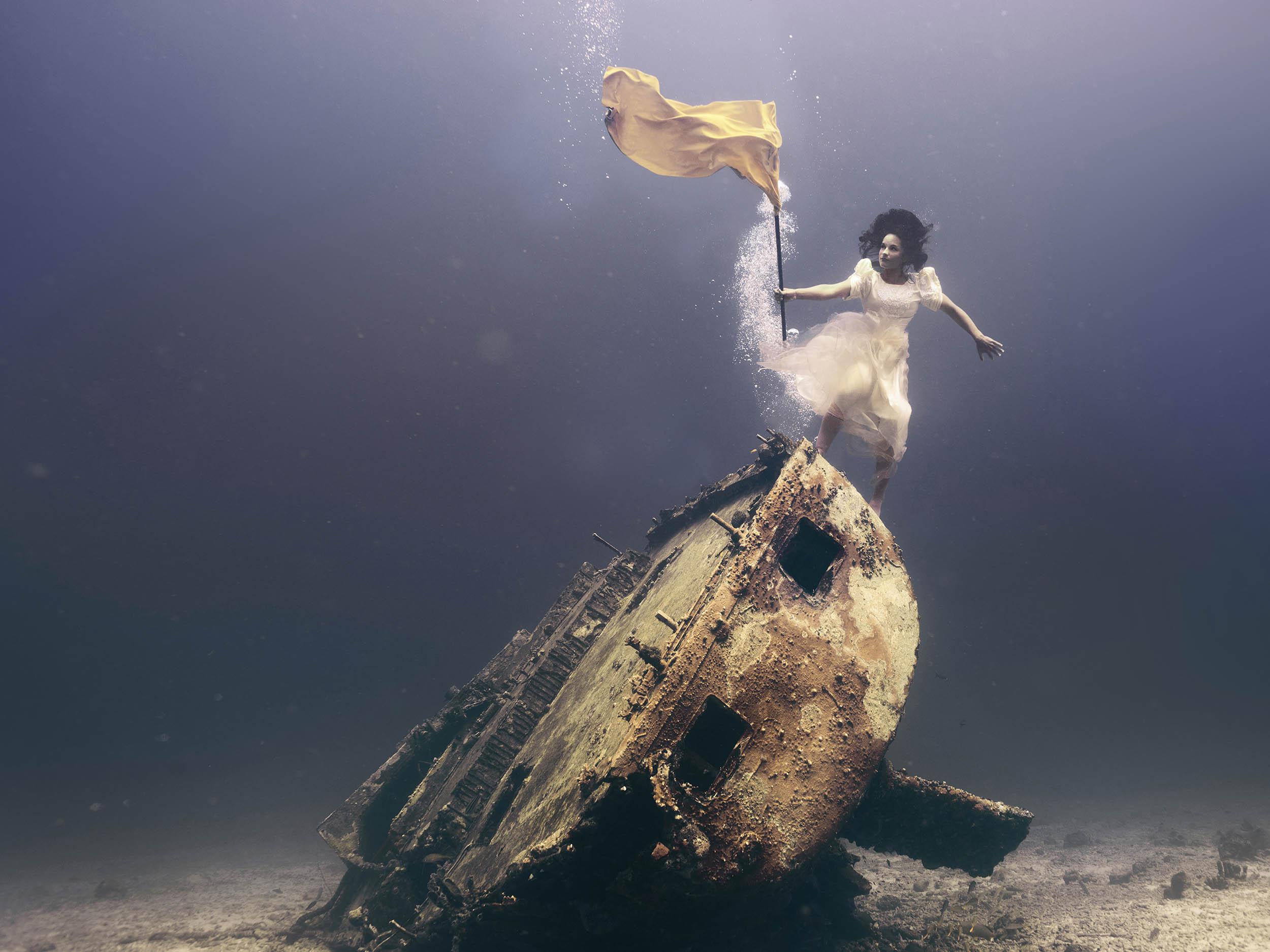 onderwater foto kunst