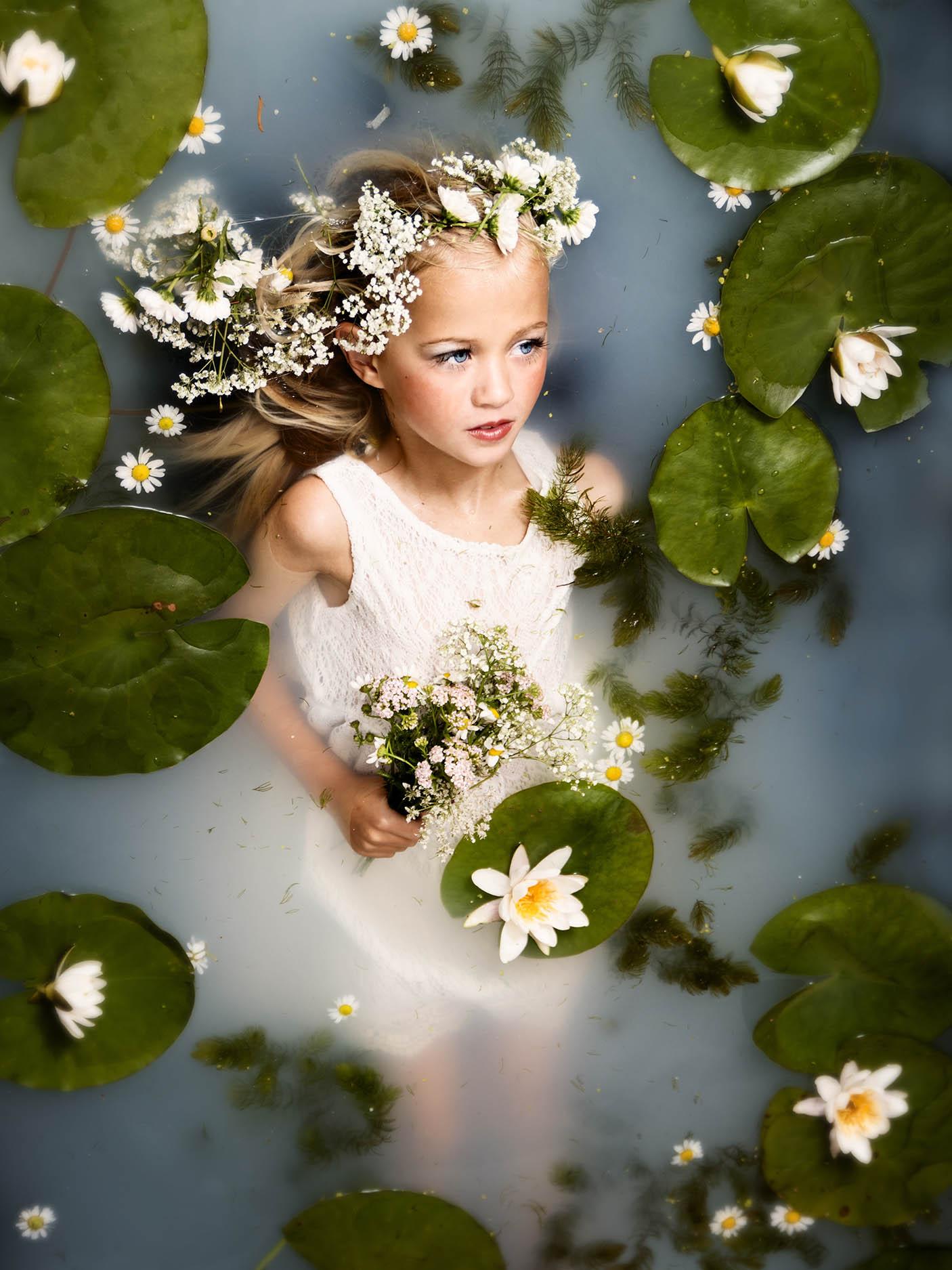 water lelies fotoshoot